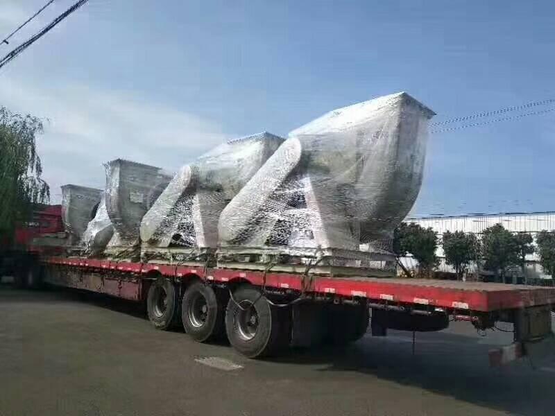 苏州顶裕5台玻璃钢爱博体育登录发往长春化工行业