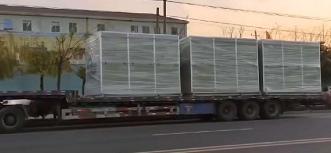 苏州顶裕8台大型玻璃钢隔音箱除臭爱博体育登录排队装车出货