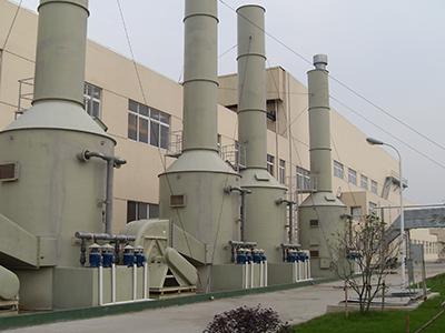 电镀行业酸碱废气处理