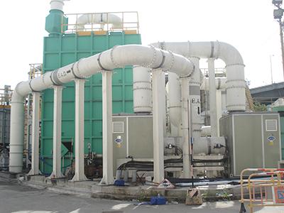 香港昂船洲污水处理厂生物除臭